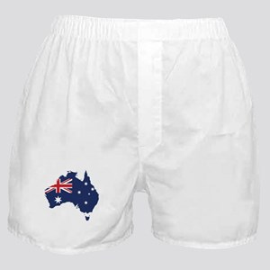 Flag Map of Australia Boxer Shorts